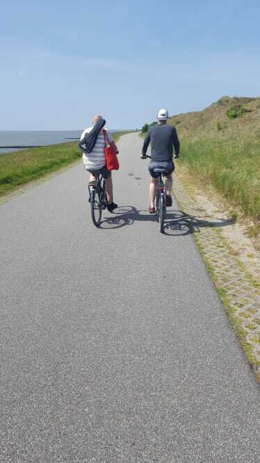 A weekend out in an island. Cars are not allowed, you make it by ferry then you better rent a bike to move around!